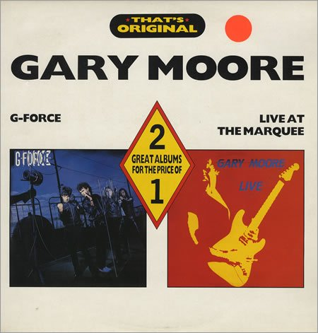 Gary Moore - G-Force / Live At The Marquee - Zortam Music