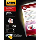Fellowes Laminating Pouches, Thermal, ImageLast, Letter Size, 5 Mil, 100 Pack (52040)