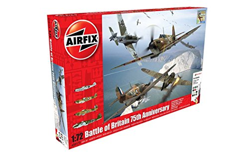 Airfix 1:72nd Battle of Britain 75th Anniversary Plastic Model Gift Set (Airfix Model Kits compare prices)