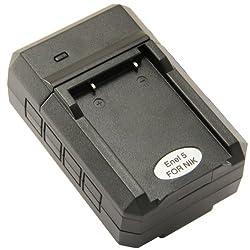 STK EN-EL5 Charger for Nikon Coolpix P500, P510, P100, P90, P80, P6000, P5100, P5000, 5200, 7900, S10, P4, 4200, 5900, 3700, P3, ENEL5, MH-61