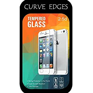 Go Crazzy Anti Explosion 0.4mm 2.5D 9H Ultra thin Curve Edges Tempered Glass Screen Protector for Nokia Lumia 640