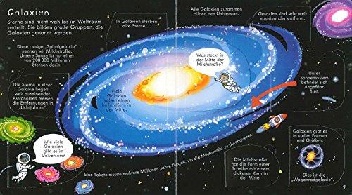 Aufklappen und Entdecken: Im Weltraum
