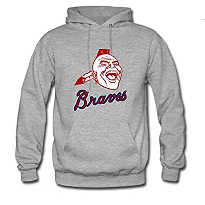 Nesth Men's and Women's Personalized Atlanta Braves Baseball Classic Hoodie