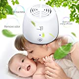 TEC.BEAN Ionic Air Purifier Ozone Ionizer Personal USB Air Freshener, Remove Cigarette Smoke, Odor Smell, Bacteria, Mini Air Cleaner for for Small Bedroom, Pets Room, Refrigerator, Car, Traveling