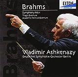 ブラームス:交響曲第1番、悲劇的序曲、大学祝典序曲