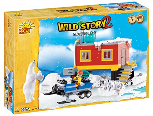 COBI Wild Story Arctic Base Building Kit
