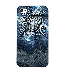 Mental Mind 3D Printed Plastic Back Cover For Iphone 4s - 3DIP4S-G984