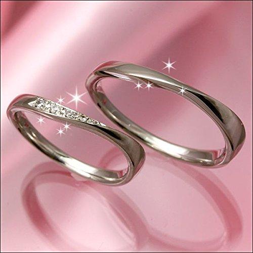 結婚指輪 マリッジリング プラチナ 2本セット ペアリング カップル ペア ダイヤモンド リング 指輪 地金リング レディース リング プラチナ Pt 重ね着け 重ねづけ リング