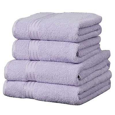 Linens Limited Supreme 500gsm Egyptian Cotton Jumbo Bath Sheet, Lilac
