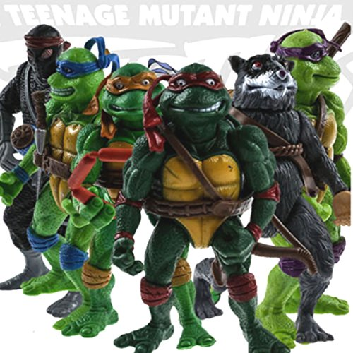 [6pcs Teenage Mutant Ninja Turtles Action Figures Classic Collection Toys Set Boy] (Dance Costumes Supplies Sydney)