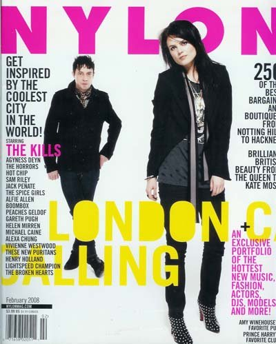 Nylon Magazine - February 2008: London Calling - From the Queen to Kate Moss