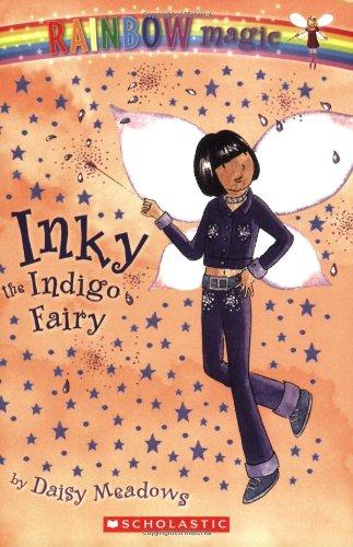 Inky: The Indigo Fairy (Rainbow Magic: The Rainbow Fairies, No. 6) front-644191