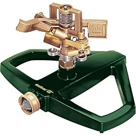 Melnor 3900H Heavy Duty Metal Pulsating Sprinkler