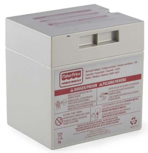 12V Battery for Barbie Beach Ranger B2489 Power Wheels Fisher Price (Power Ranger Barbie compare prices)