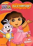 Dora l'Exploratrice - Vive le coloriage ! (Orange/rose)...