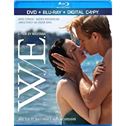 W.E. (Blu-ray/DVD Combo + Digital Copy)