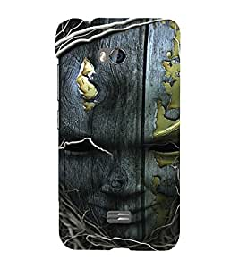 EPICCASE Smiling Tree Mobile Back Case Cover For Micromax Q336 (Designer Case)