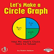 Let's Make a Circle Graph Audiobook by Robin Nelson Narrated by  Intuitive