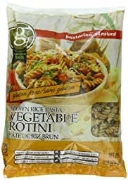 Pastariso All Natural Brown Vegetable Rotini, 1-Pound (Pack of 6)