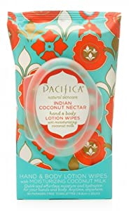 Pacifica Hand & Body Lotion Wipes from Pacifica