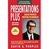 Presentations Plus: David Peoples' Proven Techniques (Finance & Investments)by David A. Peoples