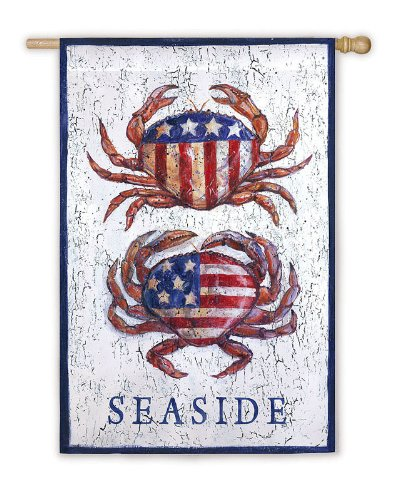 Flag, Reg, Patriotic Crabs