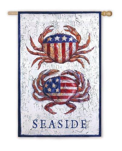 Flag, Reg, Patriotic Crabs