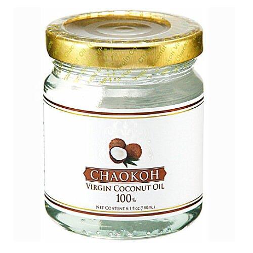 チャオコー ヴァージンココナッツオイル 162g 瓶入り Virgin Coconut Oil
