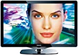 Philips 52PFL8605K/02 132 cm (52 Zoll) LED-Backlight-Fernseher (Full-HD, 200Hz, 3D ready, Ambilight Spectra 2, DVB-T/-C/-S) Glas-Frontrahmen