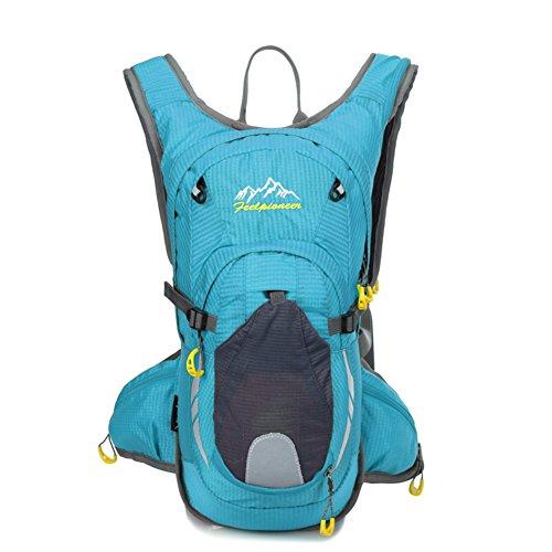 sac de vélo professionnel / sac d'escalade en plein air / sac de sport / Backpack Voyage-lac bleu 15L