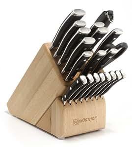 Wusthof Classic Ikon 22-Piece Block Knife Set