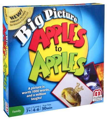 Big Picture Apples To Apples Game by Mattel (Big Picture Apples To Apples compare prices)