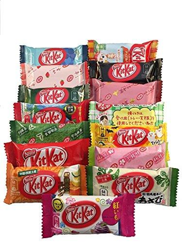 Japanese Kit Kat 16 pcs TONOSAMA selection, ALL DIFFERENT FLAVORS.