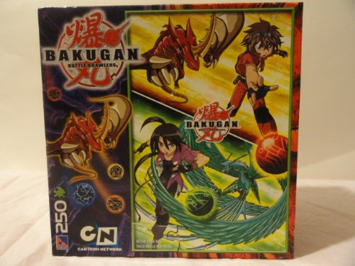 Bakugan Battle Brawlers 250 Piece Jigsaw Puzzle - 1