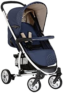 hauck Malibu All-in-One Travel System (Moonlight/Almond)