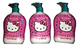 Hello Kitty Hand Soap (3 Bottles)