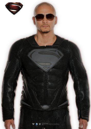 Ud Replicas Superman Man Of Steel Dream Sequence Leather Jacket, Xx Small