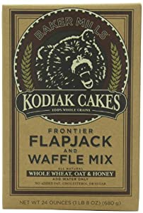 Kodiak Cakes Frontier Flapjack & Waffle Mix, 24-oz Boxes (Pack of 12)