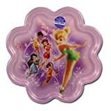 Disney Fairies Shaped Plate - Flower Shape TinkerBell Plate
