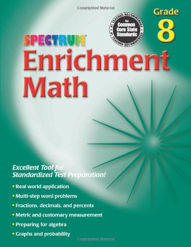 Enrichment Math, Grade 8 (Spectrum)