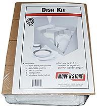 Foam Dish Packing Moving Kit - MBX-120