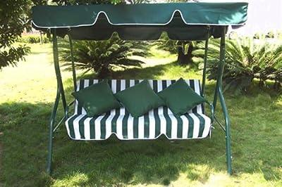 Loywe Hollywoodschaukel Gartenschaukel 3 Sitzer Modell LW12 von CeibGmbH - Gartenmöbel von Du und Dein Garten