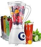 Standmixer Smoothie Maker 1,5 Liter Ice Crusher Eiweiß Shaker Universal Mixer ...