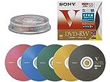 SONY ビデオ用DVD-RW 120分 1-2倍速 20枚パック 20DMW12HXS