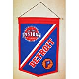 "Detroit Pistons NBA ""Traditions"" Banner (12""x18"")"