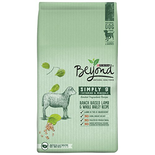 Purina Beyond Natural Dry Dog Food, Simply 9, Ranch Raised Lamb and Whole Barley Recipe, 14.5-Pound bag, Pack of 1 (Diamond Natural Dog Good compare prices)