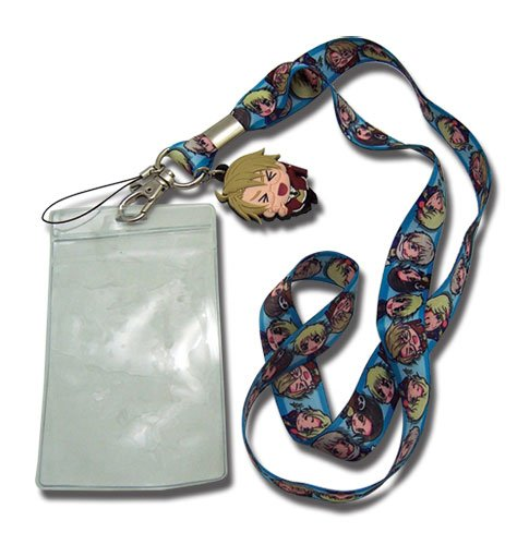 Hetalia World Series SD Group Cellphone Lanyard - 1