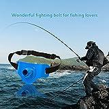 Docooler 360 Degree Rotatable Adjustable Belt Fishing Fighting Belt Waist Rod Holder Durable Fish Rod holder