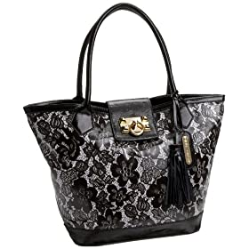 Betsey Johnson Amazing Lace Tote