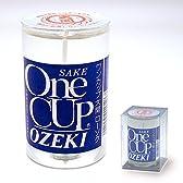 ワンカップ大関のローソク(高さ8.2cm×口径5cm)◆お酒好きだった故人の供養に最適(カメヤマ)